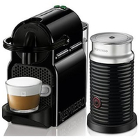Nespresso Inissia D40 Bundle, Black
