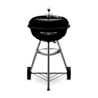 Weber Compact Kettle Charcoal Grill 47 cm, Black