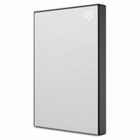 Seagate Backup Plus Slim 1TB External Hard Drive Portable HDD, Silver