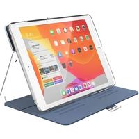 Speck 133537-7399 BalanceFolio Clear iPad 10.2 Inch Case and Stand (2019) , Marine Blue