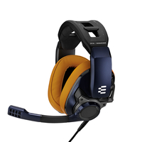 EPOS GSP 602 Closed Acoustic Gaming Headset, Blue