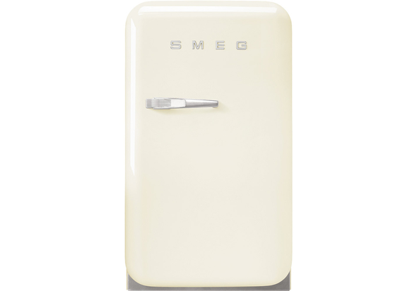 Smeg FAB5RCR3GA Single Door Refrigerator 38 L, Cream