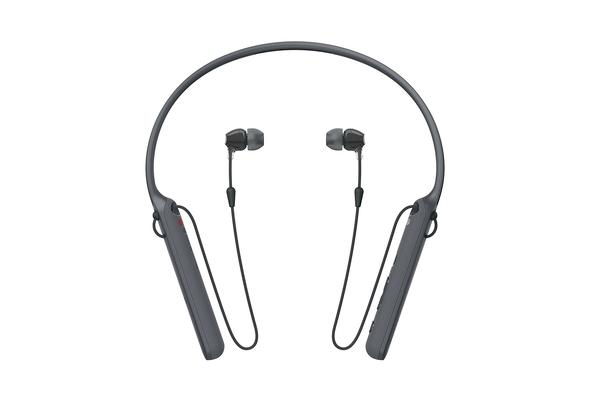 Sony WIC400 Wireless Behind-Neck In Ear Headphone, Black