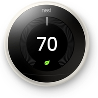 Nest Learning Thermostat,  White