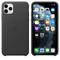 Apple iPhone 11 Pro Max Leather Case, Black