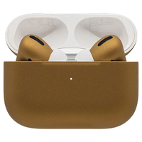 Switch Custom Painted Original Apple AirPods Pro in Gold Matte Finish