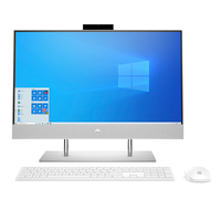 """HP 24-DP1001NE, Core i5-1135G7, 8GB RAM, 1TB HDD+ 256GB SSD, 23.8"""" FHD All in One, Silver"""