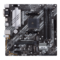 Asus AMD B550 (Ryzen AM4) micro ATX motherboard with dual M. 2, PCIe 4.0, 1 Gb Ethernet, HDMI/D-Sub/DVI, SATA 6 Gbps, USB 3.2 Gen 2 Type-A, and Aura Sync RGB headers support