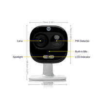 Yale All-in-One Outdoor Camera, 1080p