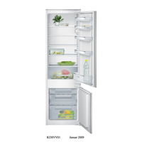 Siemens Built In Bottom Freezer Refrigerator, 294 L, KI38VX22GB