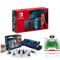 Nintendo Switch Neon+ Starlink Starter Pack+ Nyko Wireless Core Controller
