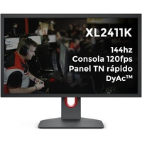 "BenQ ZOWIE 24"" XL2411K 144Hz DyAc Esports Gaming Monitor"