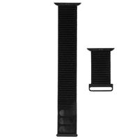 CaseMate CM-CM041676 42-44mm Apple Watch Nylon Band, Black