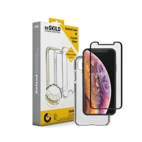 SoSkild Defend Heavy Impact Case Transparent and Tempered Glass for iPhone X/Xs