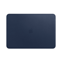 Apple Leather Sleeve for 15-inch MacBook Pro, Midnight Blue
