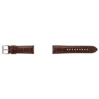 Samsung Alligator Grain Leather Band, Brown