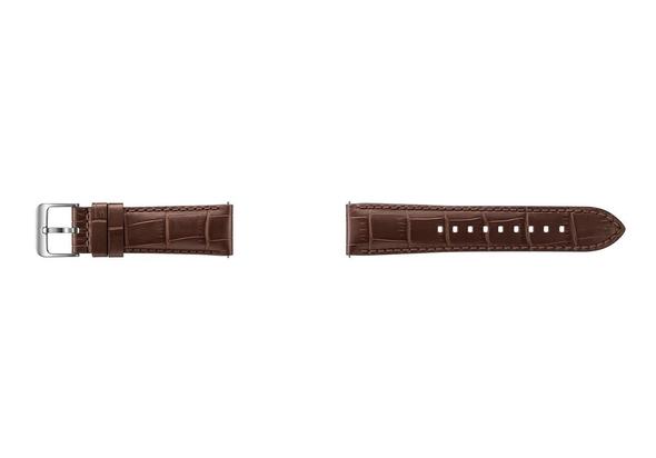 Samsung Alligator Grain Leather Band, Brown