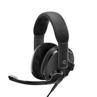 EPOS H3 Closed Acoustic Gaming Headset, Black