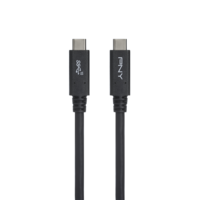PNY USB C to C 3.1 Gen2 Cable 1m, Black