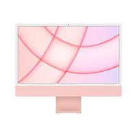 "Apple iMac M1 chip with 8-Core CPU and 8-Core GPU 8GB, 512GB 24"" Desktop Arabic and English, Pink"