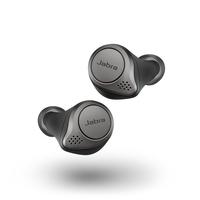 Jabra Elite 75t True Wireless Earbuds, Titanium Black