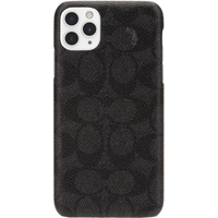 Coach Slim Wrap Signature C Case for Apple iPhone 11 Pro Max, Black