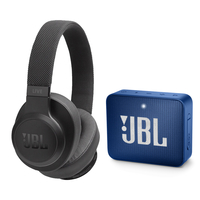 JBL Live 500BT Wireless Over Ear Headphones,  Black