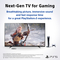Sony 65 Inch BRAVIA XR A80J OLED Smart Google TV, 4K Ultra HD High Dynamic Range HDR, XR-65A80J, 2021 Model