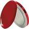 Sanho HyperJuice Pearl Compact Mirror with Rechargeable Battery Pack, Red