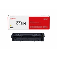 Canon Original 045 Toner Cartridge, Yellow