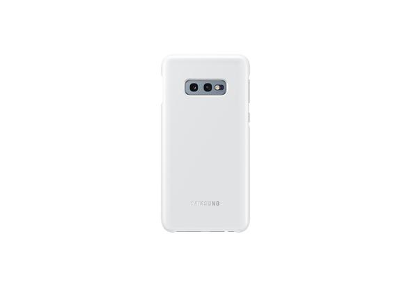 Samsung Galaxy S10e LED Back Cover, White,  White