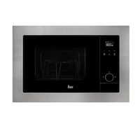 Teka 20 Liters Built-In Microwave with Grill MS 620 BIS, 3 Cooking functions