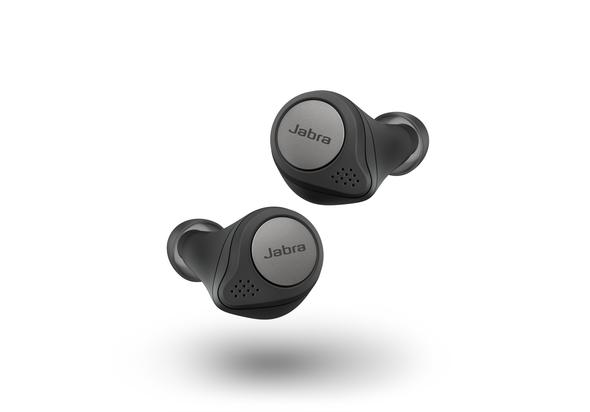 Jabra Elite Active 75t True Wireless Earbuds,  Titanium Black