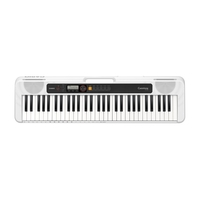 Casio CTS-200 Keyboard with ADE95100 Adaptor, White