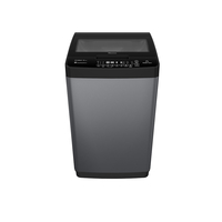 Hisense A+ Free Standing Top Loading WM - 8 KG, with Titanium Finish, Super Quick Wash, Power-Off Protection, Time Delay Function, Titanium