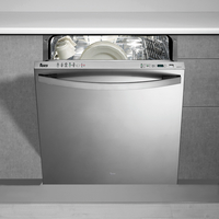 Teka 60 cm Built-in Dishwasher DW8 80 FI, 10 Programs, 13 Place settings, Stainless steel door