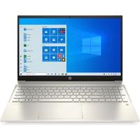 "HP 15-EG0037NE Pavilion 15, Core i5-1135G7, 8GB RAM, 512GB SSD, Nvidia GeForce MX350 2GB Graphics, 15.6"" FHD Laptop, Gold"