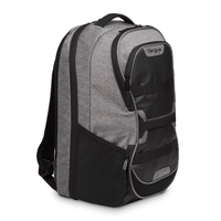 "Targus Work+ Play Fitness 15.6"" Laptop Backpack, Grey"