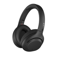 Sony WH-XB900N Wireless Noise-Cancelling Bluetooth Over-Ear Headphones with Mic for phone call,  Black