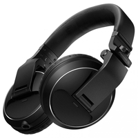 Pioneer HDJ-X5-K Over Ear DJ Headphones, Black