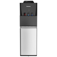 Panasonic SDM-WD3128TG Water Dispenser, Black/Silver