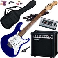Yamaha EG112GPII MTU Steel String Electric Guitar Package, Metallic Blue