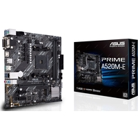 Asus AMD A520 (Ryzen AM4) micro ATX motherboard with M. 2 support, 1 Gb Ethernet, HDMI/DVI/D-Sub, SATA 6 Gbps, USB 3.2 Gen 2 Type-A