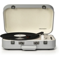 Crosley CR6026A-BL Coupe Bluetooth Turntable, Gray
