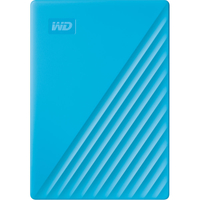 WD 4TB My Passport USB 3.2 Gen 1 External Hard Drive 2019, Sky Blue