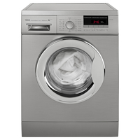 Teka 7 Kg 1200 RPM Washing Machine TK4 1270 SS, 16 Programs, Front load, Stainless steel