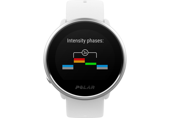 Polar Ignite Fitness Watch with GPS Small,  Black/Silver