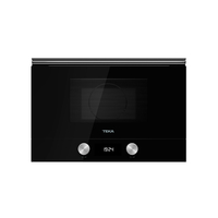 Teka 22 Liters Built-In Microwave with Grill ML 822 BIS L, 3 Cooking functions, Ceramic base
