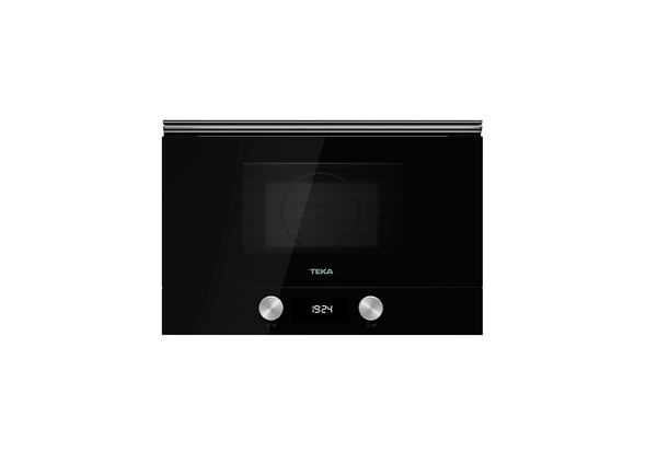 Teka 22 Liters Built-In Microwave with Grill ML 8220 BIS L Black, 3 Cooking functions, Ceramic base