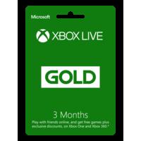 Microsoft Xbox Gold 3mo R17